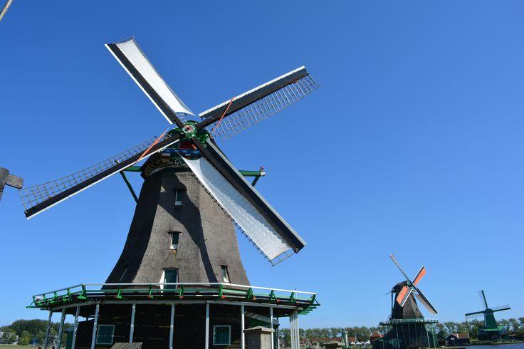 Moinhos de Zaanse Schans, Holanda