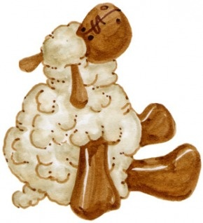 sleeping sheep coloring pages - photo#35