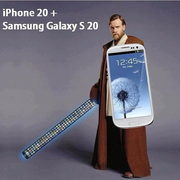 iPhone & Galaxy