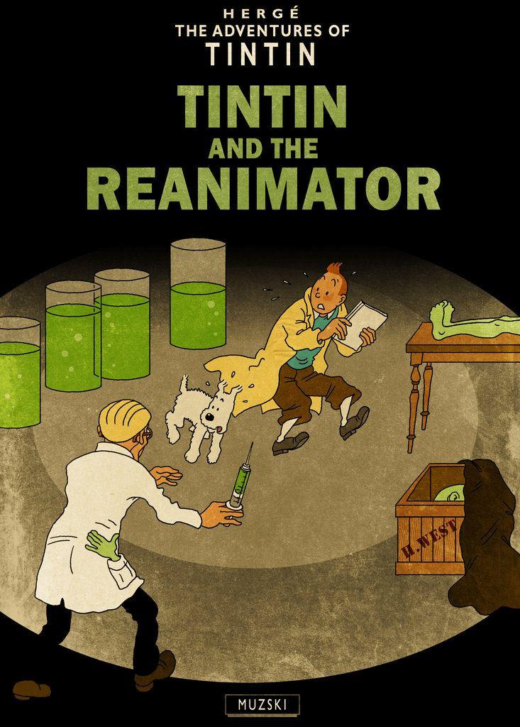 Tintin vs the Reanimator?!