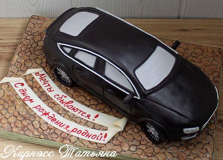 Audi A7 cake