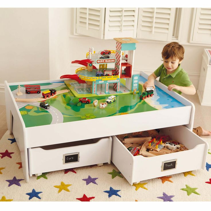 Multipurpose Play Table - White - Playtables & Kids' Tables - Furniture - gltc.co.uk