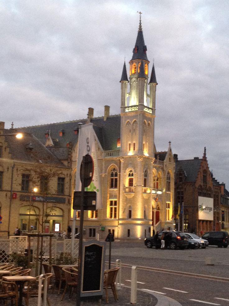 Poperinge - lovely little town in Flanders.