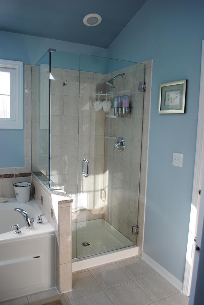 Shower Adjacent To Bathtub Master Bath Needs To Have The
