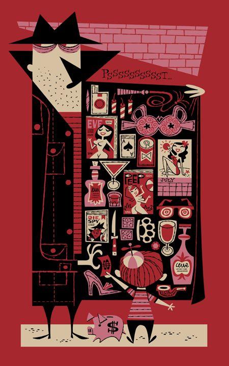 The Pusher by Derek Yaniger