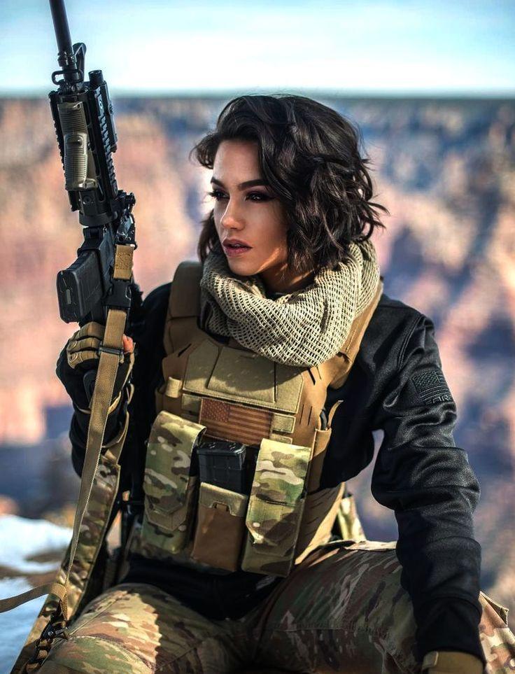 Patriotic Women | Girl guns, Military girl, Women