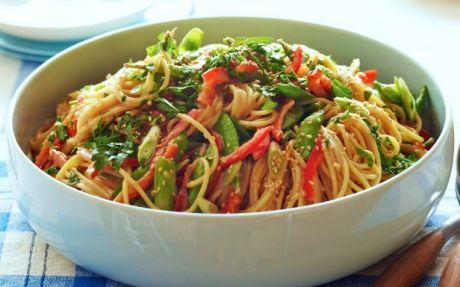 Crunchy noodle salad Recipe by Ina Garten : Food Network