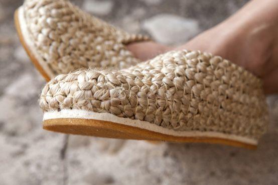 pla sandalias yute