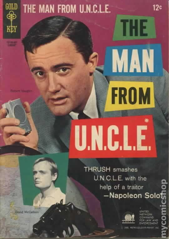 Man from UNCLE (1965 Gold Key) comic books #4