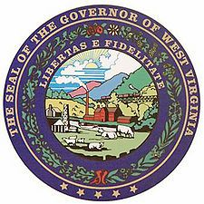 Seal of the Governor of West Virginia.jpg List of governors