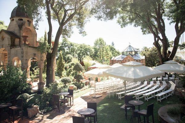 Shepstone Gardens wedding venue in Johanesburg, South Africa. Photo by Jessica Notelo. #weddingphotography