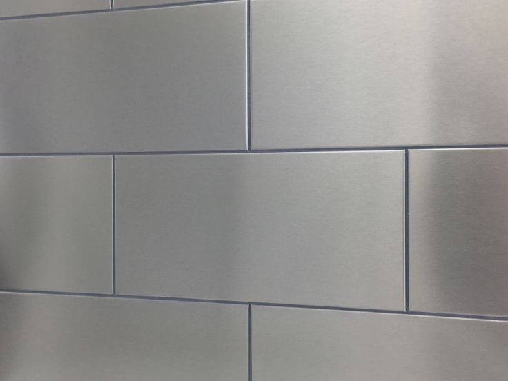 RVS Tegels als achterwand keuken
