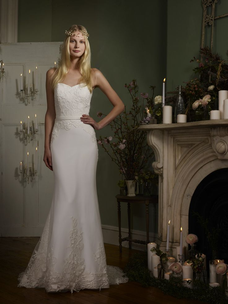 New The Robert Bullock Bride collection of timeless affordable romantic wedding dresses is available in Colorado only at Little White Dress Bridal Shop in
