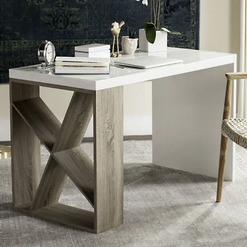Found It At Allmodern Carmody Writing Desk Casual Officewood Furnitureoffice