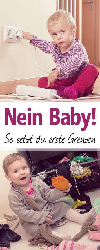 Baby-Erziehung: Erst in diesem Alter bekommt das Wort Nein eine Bedeutung!