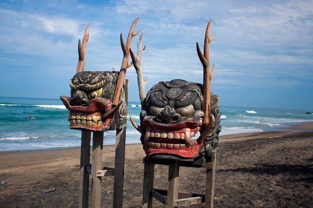 Barong at Canggu beach, Bali #BaliCulture