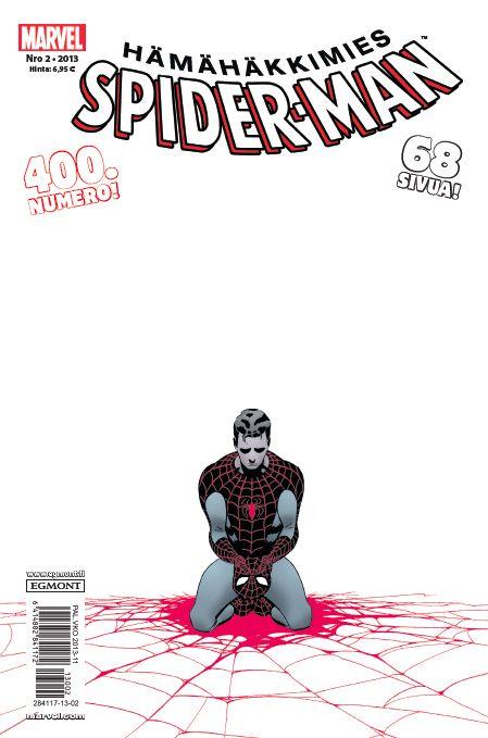 Hämähäkkimies - Spider-Man nro 2/2013. #sarjakuva #sarjakuvalehti #sarjis #egmont