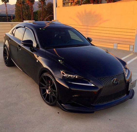 Lexus IS 250 Blacked Out
