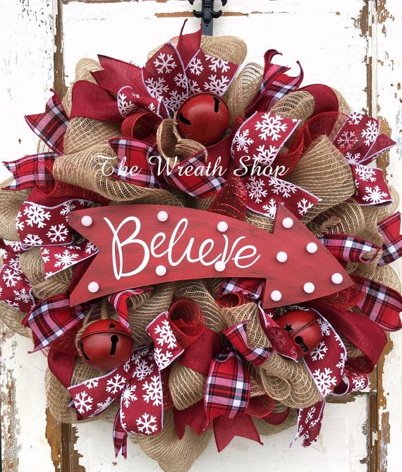 Hey, I found this really awesome Etsy listing at https://www.etsy.com/listing/254874101/rustic-believe-light-up-christmas-wreath