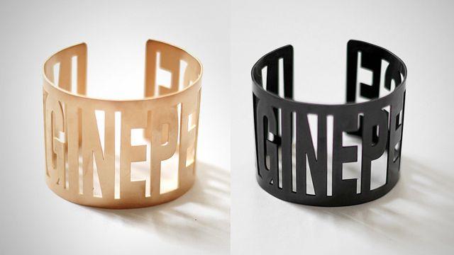 Imagine Peace Cuff by Yoko Ono via SHFT