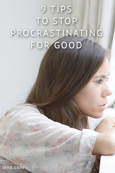 Manage your time and avoid procrastination! www.levo.com time management, stop procrastinating