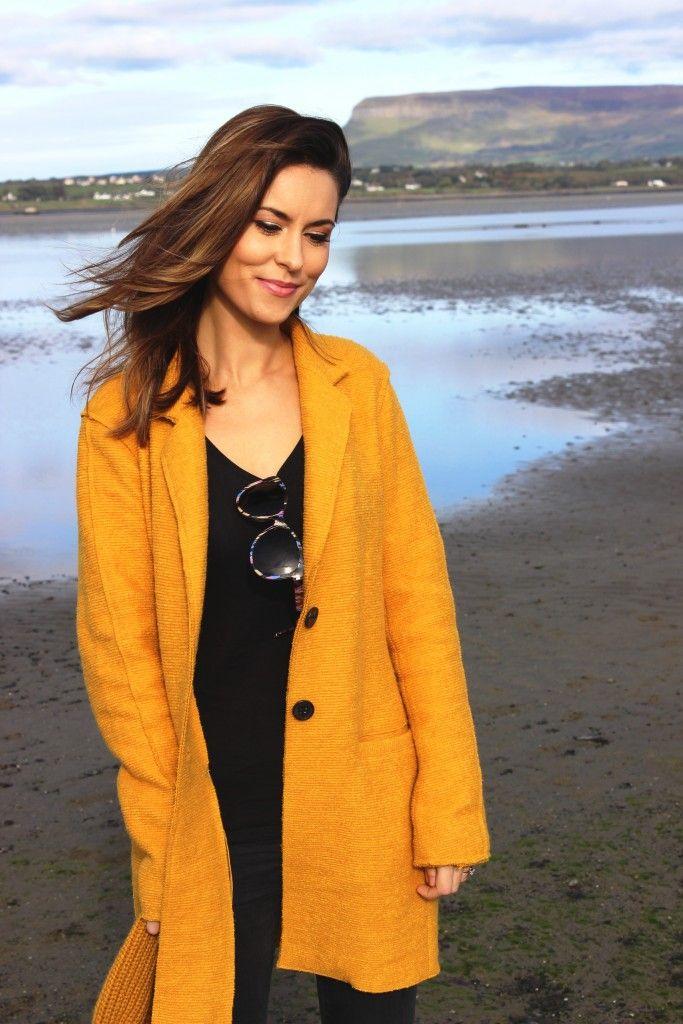 Mustard Winter Coat from DV8 Fashion