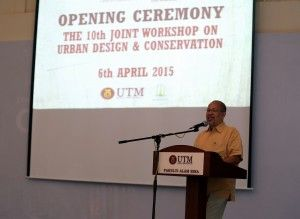 Opening Ceremony The 10th Joint Workshop on Urban Design and Conservation