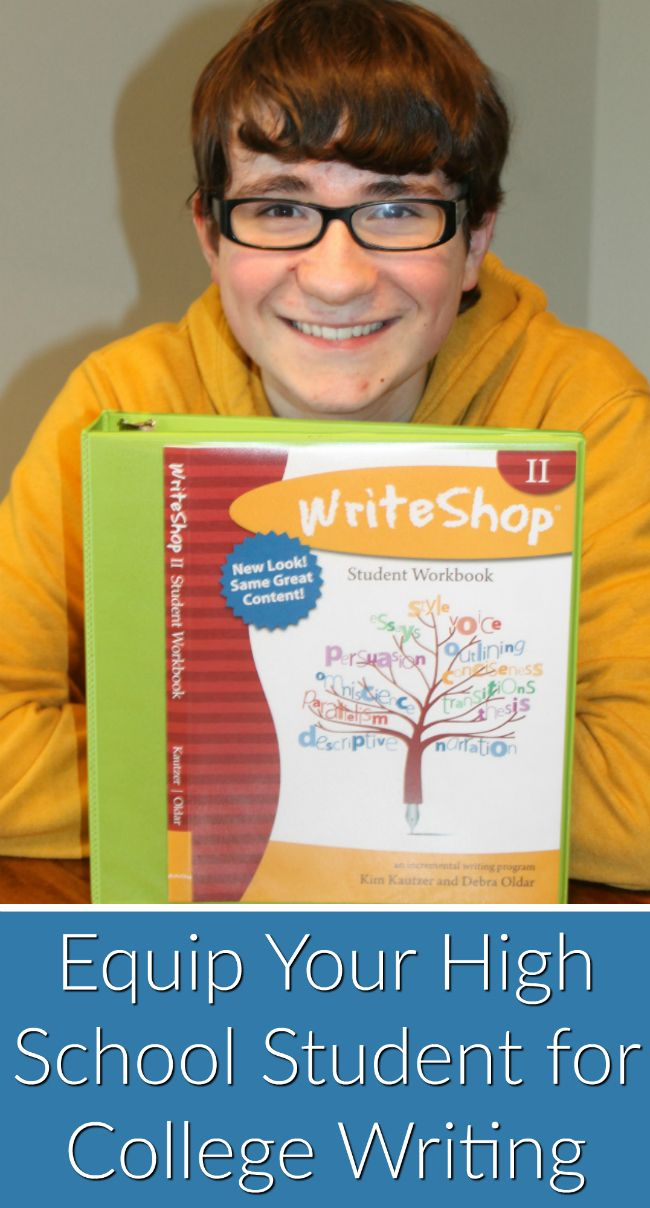 Equip Your High School Student for College Writing • high school English and composition curriculum • #homeschooling