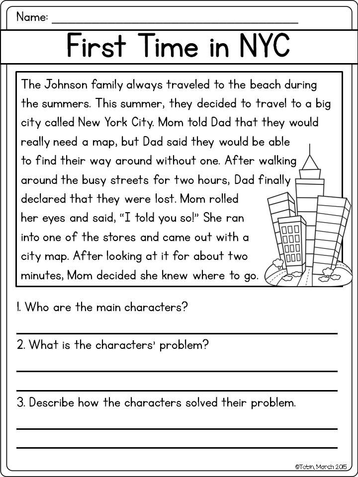 problem solution essay 4th grade