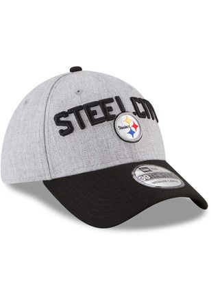 timeless design 5ee94 978ea 2018 NFL Draft official Pittsburgh Steelers New Era Cap hat.