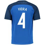 Patrick Vieira 4 2018 FIFA World Cup France Home Soccer Jersey
