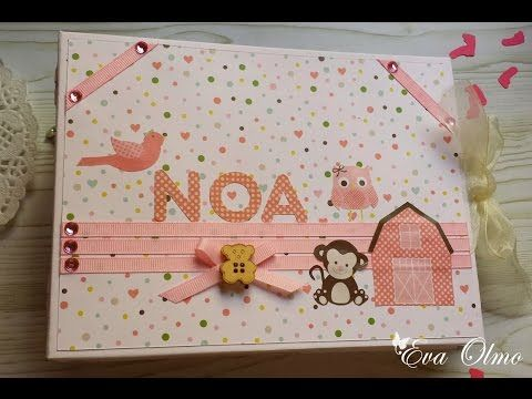 Tutorial álbum con caja, parte 1/2 / Album in box tutorial part 1/2 - YouTube