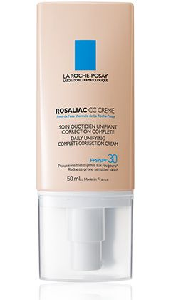 All about ROSALIAC CC CREME, a product in the Rosaliac range by La Roche-Posay recommended for {Topic_Label}. Free expert advice