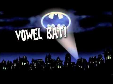 Vowel Bat kids song by Shari Sloane  www kidscount1234 com  School is Cool album   YouTube