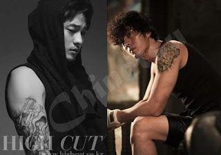 So Ji Seop | Chimci Chinatsu: Tato Seksi Bintang Korea, Favoritmu?