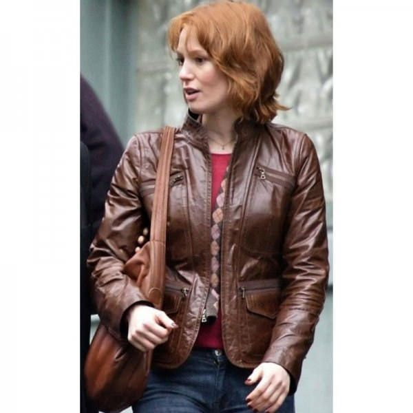 Alicia Witt Leather Jacket