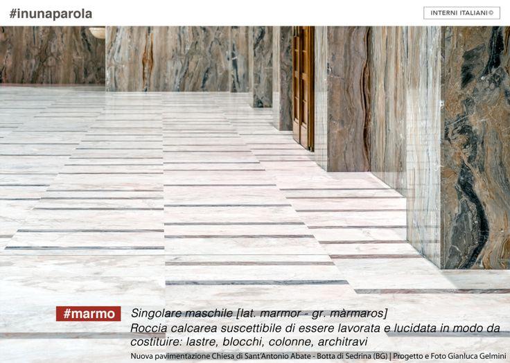 nuova pavimentazione Chiesa di Sant'Antonio Abate- Botta di Sedrina (BG). Progetto e foto Gianluca Gelmini. #architettura #marmo #marble #flooring #architecture #church #architetturasacra #GianlucaGelmini #interniitaliani