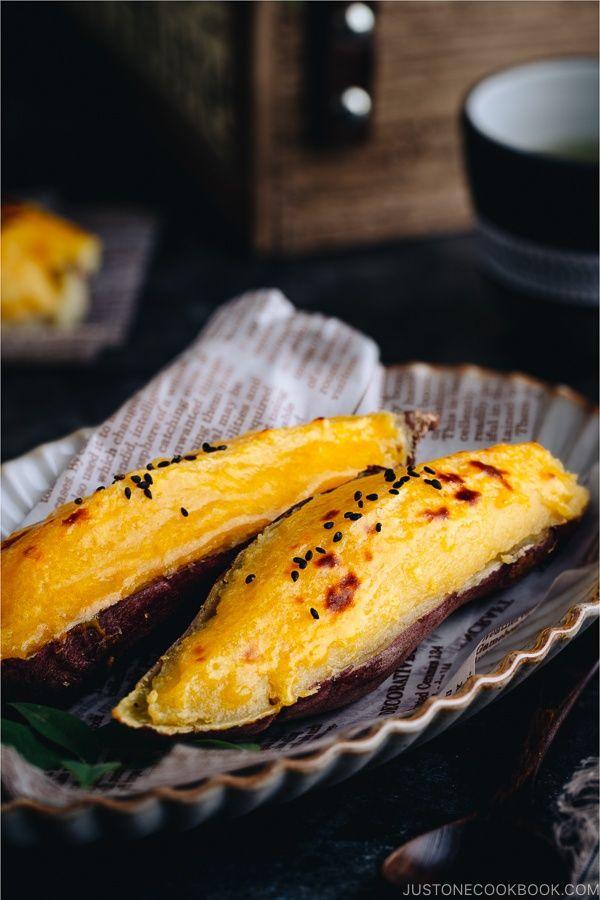 Japanese Sweet Potato Video スイートポテト Just One Cookbook Recipe Japanese Sweet Potato Sweet Potato Dessert Food