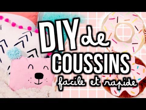DIY DE COUSSINS - facile et rapide! | Emma Verde