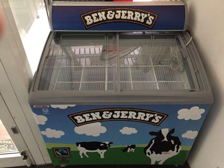 Epic Eistruhe von Ben uJerrys zu verkaufen Wenig Stromverbrauch neue generation mit licht Mit