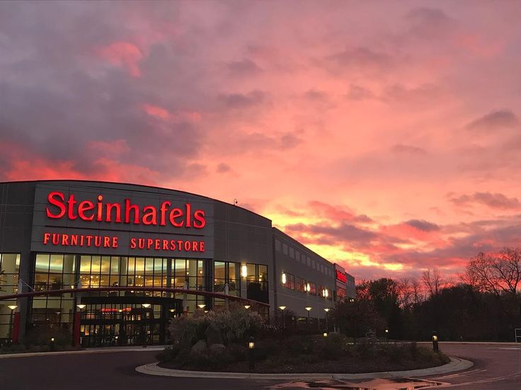 We Had A Gorgeous Sunset At Our Waukesha Store Last Night!