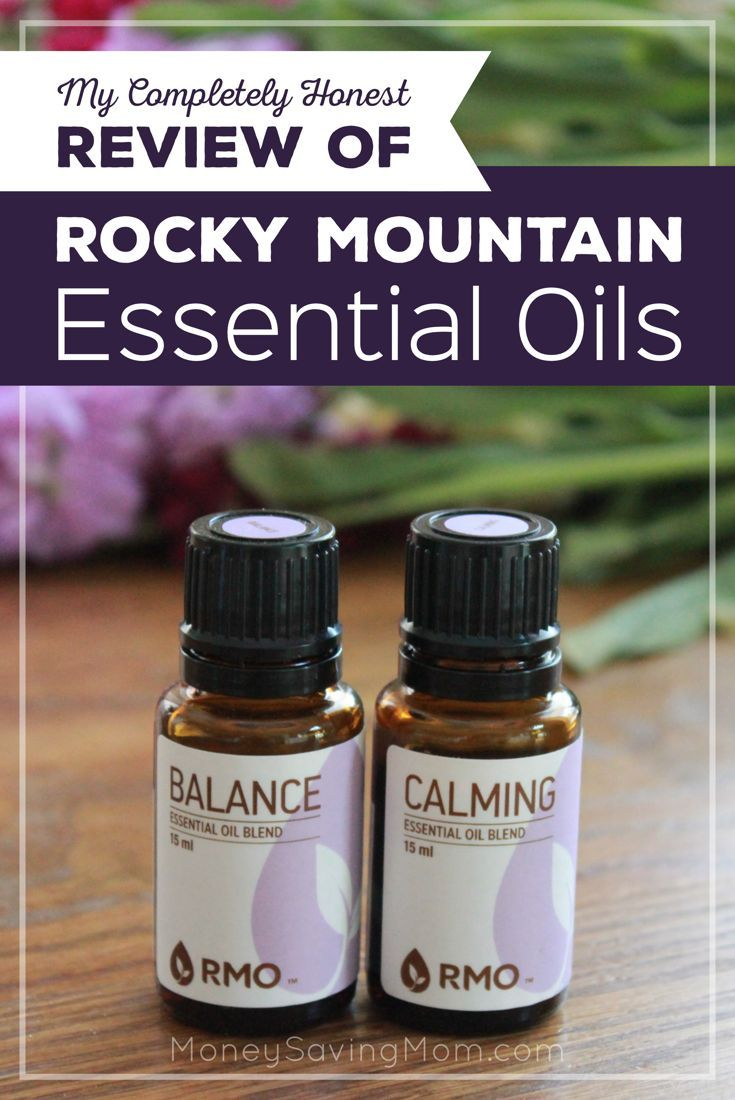 Interested in essential oils but not sure which brand to try? Check out my completely honest review of Rocky Mountain Essential Oils!