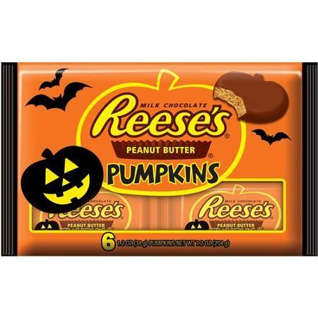 Reese's Peanut Butter Pumpkins, 1.2 oz, 6 count
