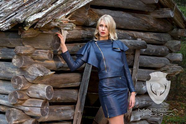 Mariela Pokka est synonyme de luxe, mode et fait de cuir de renne unique