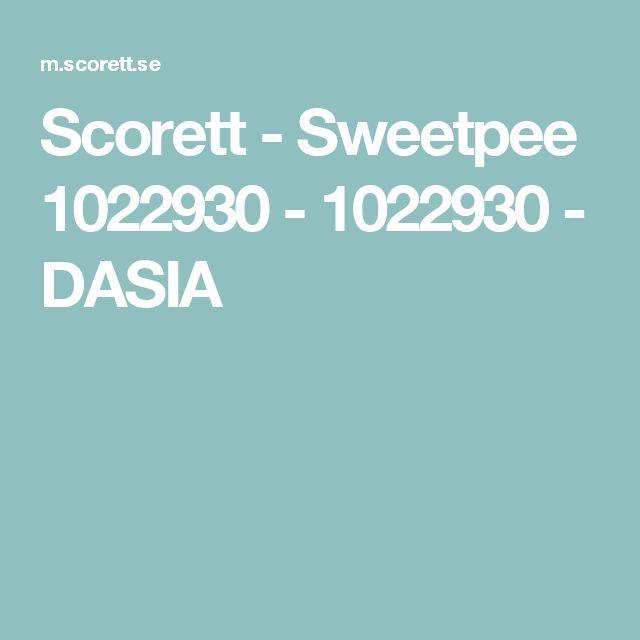 Scorett - Sweetpee 1022930 - 1022930 - DASIA