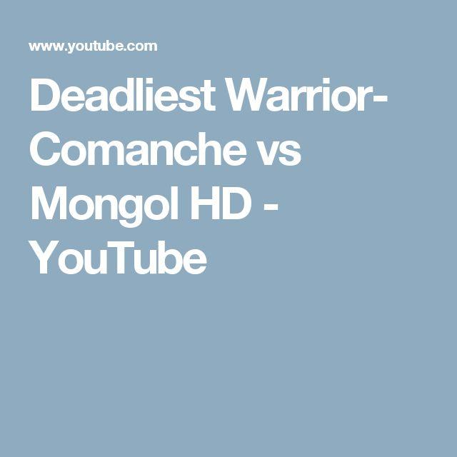 Deadliest Warrior- Comanche vs Mongol HD - YouTube