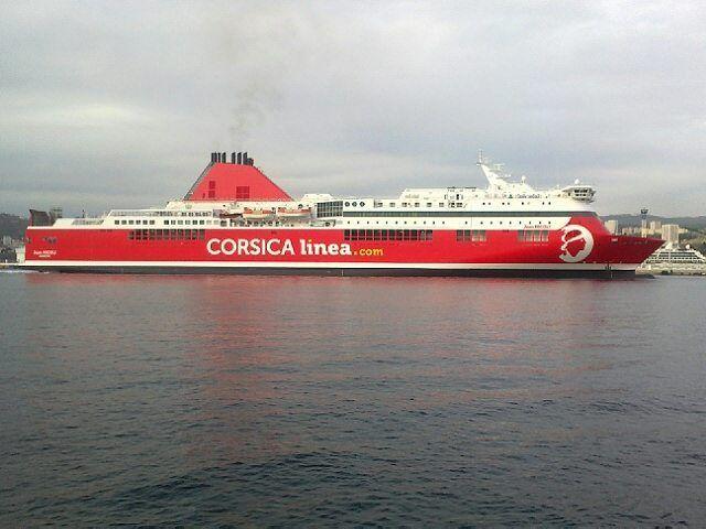 Le voilà le #jeannicoli aux couleurs de #CorsicaLinea prêt pour de nouvelles traversées #Corse #continent et à voguer en #Méditerranée grâce à #CorsicaMaritima.