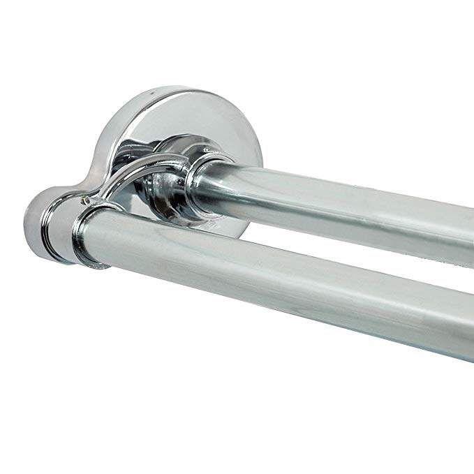 Zenna Home 36602ss Neverrust Aluminum Double Tension Shower