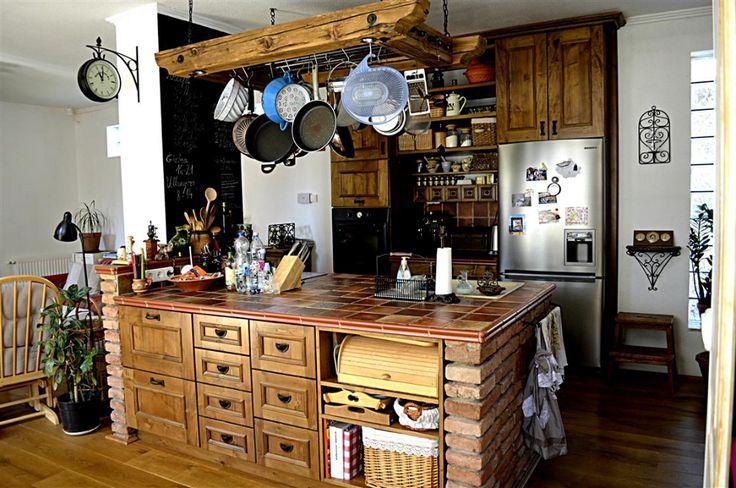 vidéki rusztikus konyha