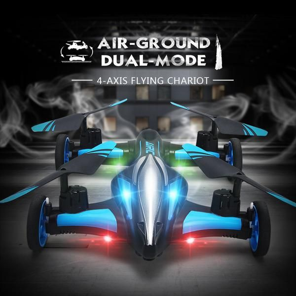 FLYING CAR Features: wheels and built-in motors enable full-direction control on the ground.Fine workmanship, and attractive appearance.LED light enables you to